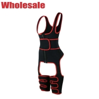 China NANBIN 9 Steel Full Body Workout Waist Trainer With Thigh Slimmer wholesale