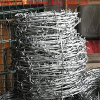 Buy cheap Double Twist Steel 14 Gauge*12 Gauge Galvanized Barbed Wires/hot-dipped galvanized barbed wire really factory from wholesalers