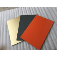 China White Polyester Paint Aluminum Sandwich Panel Anti - Toxicity With 4mm Thickness wholesale