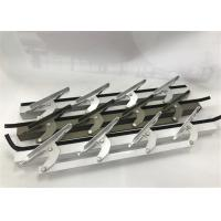 China 6 Inch Length Machining Aluminum Parts / Window Louvers WIth Punching wholesale