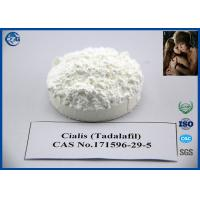 China Sex Enhancement Tadalafil Powder , Cas 171596 29 5 Raw Steroid Powders wholesale