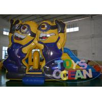 China Exhibition Fun Minions Inflatable Bouncer Combo Commercial Digital Printing wholesale