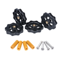 China Yellow 8mm*4mm*25mm 3D Printer Springs Ender3 Hand Nut Screw M4 Leveling Kit wholesale