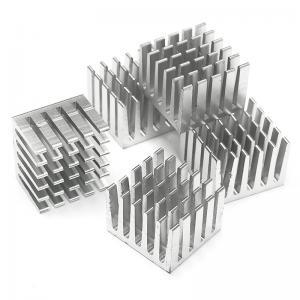 China Led Strip Light Heatsink Extrusion Profiles Large Multiple Fins Circular wholesale