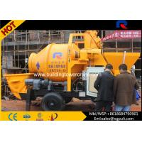 China 37kw Motor Power Electric Concrete Mixer Pump Trailer 5.3 tons Weight wholesale