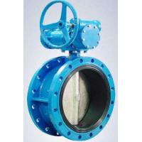 Quality Flanged Resilient Sealing Stainless Steel / Ductile Iron Butterfly Valve 1.0MPa for sale