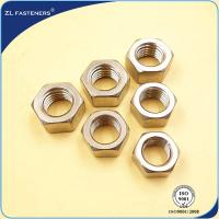 China 18-8 A4-80 , SS316 Steel Hex Nut For Industrial Engineering Components wholesale