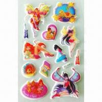 China EVA Foam Stickers, OEM Orders are Welcome, Used for Album and Notebook wholesale