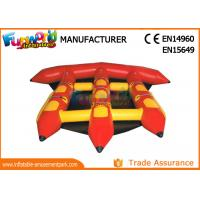 Buy cheap 0.9mm PVC Tarpaulin Inflatable Water Toys For Adults / Lake Flying Fish Water Sport from wholesalers