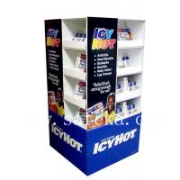 China Custom Cardboard POS Pallet Displays in pharmacy stores wholesale