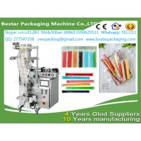 China Automatic  liquid Popsicle packing machine,ice Popsicle packag ing machine with stainless steel tank and pump wholesale
