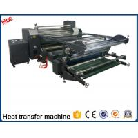 China New type Large format 2017 manufacturer design rotary sublimation printing heat transfer machine for fabric factory26D wholesale