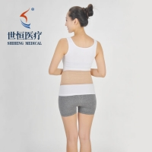 China 2020 New Neoprene Waist Belt Corset Abdomen Waist Tights Rubber Abdomen Belt Stomach Wrap Slimming Weight Loss Belts wholesale