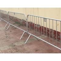 Buy cheap Construction Site Fence  galvanzde pipe fence@Portable Steel Temporary Fence, Metal Fence, Wire Mesh Fence from wholesalers