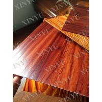 China Wood grain transfer Aluminium Window Profiles for decoration material wholesale