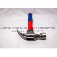 China Carbon Steel Hand Tools Hammer / Carpenters Claw Hammer Fiberglass Handle wholesale