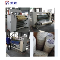 China 1800kg Transparent Bopp Tape Jumbo Roll Adhesive Slitting Machine wholesale