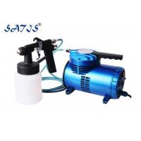China Portable Mini Air compressor with Low Pressure Spray Gun Forfurniture Painting Works Art wholesale