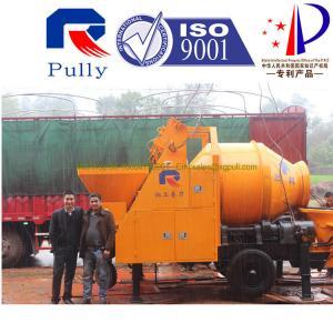 China Pully JBT40-P1 universal concrete mixer machine, electric mini concrete mixer, homemade concrete mixer wholesale