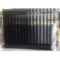 China Commercial Zinc Steel Fence Rails Industrial Steel Pipe Safety Fencing Panels wholesale