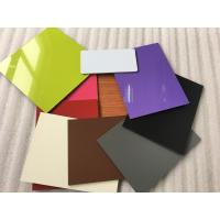 Quality Colorful Aluminum Composite Cladding Materials , Exterior Wall Covering for sale