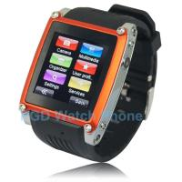 China 1.5 Inch Flat Screen Fashion Smart Wrist Watch Mobile Phones MQ668 with TF Card, SIM Card on sale