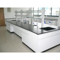 China Professional  All Wood Laboratory  Island  Bench 2400 / 3000 / 3600 * 1500 * 850 mm CE SGS ISO19001,14001 Passed wholesale