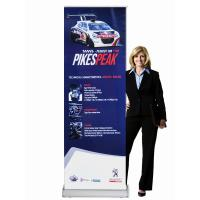 China Classic Rolla Retractable Display Banners Including Printed banner and Aluminum Base wholesale