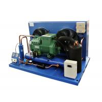 Buy cheap Meat cold storage use low temperature condensing unit , R404a, with air cooled condenser, digital thermostat from wholesalers