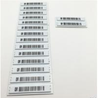 China White Anti Shoplifting Label Electronic Shelf For Valuables Security Flat Steel Nail wholesale