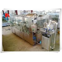China 3 In 1 PET Bottled Automatic Liquid Filling Machine 0.6MPa Air Consumption wholesale