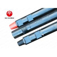 China Customized Diameter DTH Drill Rods Alloy Steel For Quarries , Wear Resistance wholesale
