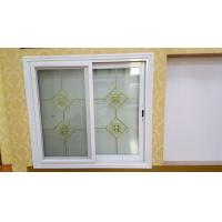 China Living Room Tempered Glass Aluminium Sliding Windows Thermal Break With Louver wholesale