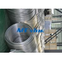 China TP316 / 316L Stainless Steel Welded Super Long Coiled Tube For Petrochemical Industry wholesale