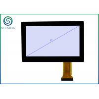 Wholesale ROHS 7 Inches Industrial Touch Screen For Touch Monitors With PCAP Projected Capacitive Touch Panel, USB Interface from china suppliers
