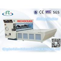 China Semi-Automatic Chain Feeder Rotary Die Cutting Carton Box Making Machine wholesale
