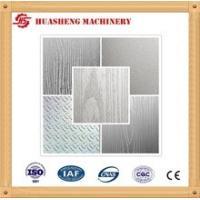 China Pattern Hot Press Stainless Steel Press Plates MWD919 For Laminated Flooring wholesale