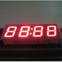 China Long Life 4 Digit 7 Segment Led Display Common Anode For Cooker STB 0.39 Inch wholesale