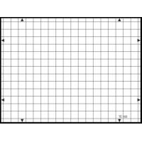 China 3nh TE183 A REFLECTANCE 14 horizontal and 19 vertical lines 19 / 14 – TV cameras GRID TEST CHART wholesale