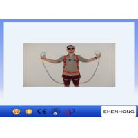 Wholesale Adjustable Full Body Harness Fall Protection Equipment Two Big Hook Along With Buffer Bag from china suppliers