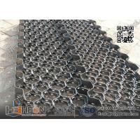 China 10X2.0X50mm Carbon Mild Steel  Hexmesh With reinforced Strip | China Exporter wholesale