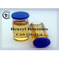 China CAS 120-51-4 Injectable Anabolic Steroids Solvents Medical Grade Benzyl Benzoate wholesale