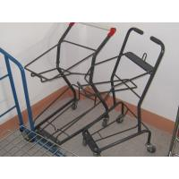 China 20Kg Supermarket Basket Shopping Trolley , Commercial Shopping Carts on sale