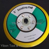 China 5inch Sanding Pad/Velcro Sanding Pad/Abrasive Pad with threads wholesale