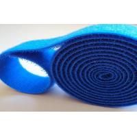 China Nylon Colored High Strength Sticky Back Hook And Loop Cable Wrap 2 Inch Reusable wholesale
