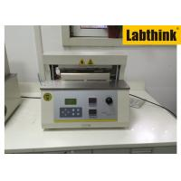 China Aluminium Foil Heat Seal Tester / Testing Equipment With Two Heat Sealing Jaws wholesale