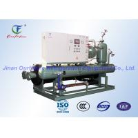 China Carlyle Water Cooled Chiller System , Commercial Danfoss Condensing Unit wholesale