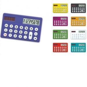 China 8 digits colourful mini card solar gift calculator HF-1138 on sale