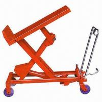 China Hydraulic Tilt Lift Table with 300 or 500kg Loading Capacity, Available in Various Sizes wholesale
