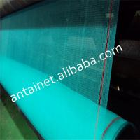 Quality HDPE green black color Construction safety netting, building safety net, for sale